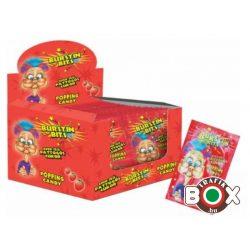 Pattogó cukor Burstin bits 7g (eper) 40 db/doboz