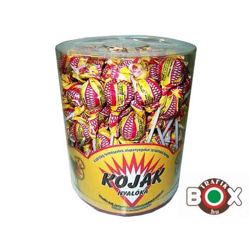 Kojak csokis nyalóka 12gr 100 db/doboz
