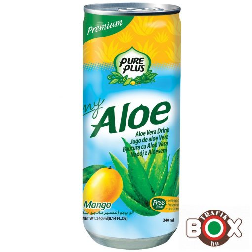 MY ALOE PRÉMIUM ital MANGÓ ízű 240 ml
