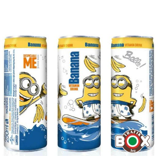 VITAMIN DRINK MINION banán ízű 250ml