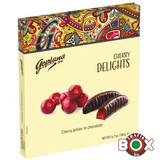 GOPLANA Delights cherry jelly 190 g