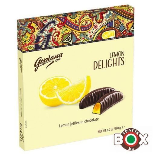 GOPLANA Delights lemon jelly 190 g
