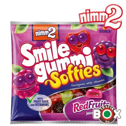 nimm2 Smilegummi Softies Red Fruits vitaminokkal 90g