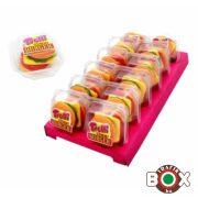 Trolli hamburger gumicukor tálcás 50g 12db/tálca