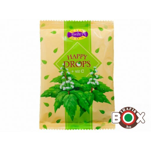 Happy drops cukor menthol 70 g