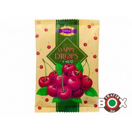 Happy drops cukor meggy 70 g