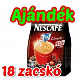 AJÁNDÉK 1 KATRON Nescafe 3in1