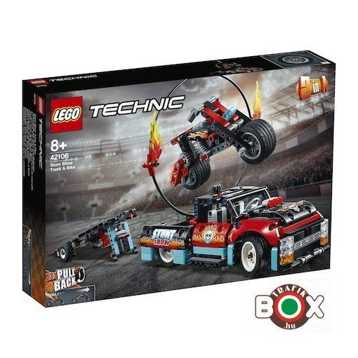 AJÁNDÉK LEGO Technic Kaszkadőr teherautó és motor
