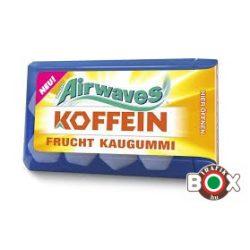 Airwaves KOFFEIN gyümölcsös rágó 8 db-os