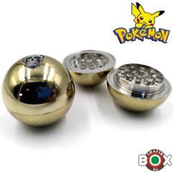 Dohányőrlő Pokemon arany kerek 3 részes 169250