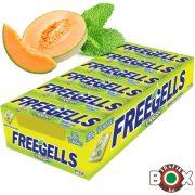 Freegells sárgadinnye-mentol cukorka 31g