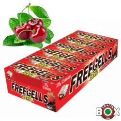 Freegells cherry-mentol cukorka 31g