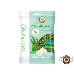 MIESZKO Eukaliptusz-menthol ízű keménycukorka 150g