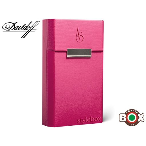 Adami Stefano Cigarettatartó doboz DAVIDOFF Electric pink UT