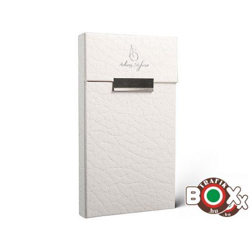 Adami Stefano Cigarettatartó doboz Slim S Leather White