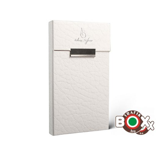 Adami Stefano Cigarettatartó doboz Slim S Leather White