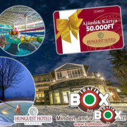 AJÁNDÉK Hungest Hotels 50.000 Ft utalvány