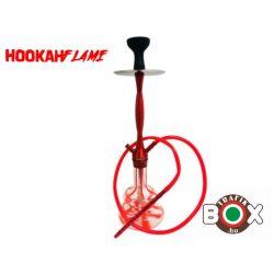 Vizipipa Hookah Flame Stripy Red 67 cm HF66-red