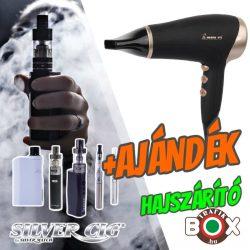 Silver Cig E-cigaretta csomag + AJÁNDÉK hajszárító