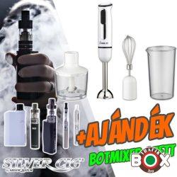 Silver Cig E-cigaretta csomag + AJÁNDÉK botmixer szett