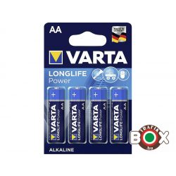 VARTA LR06 AA LONGLIFE POWER ceruzaelem 4 db/bliszter