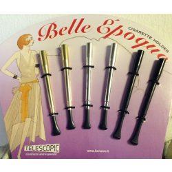 Cigarettaszipka Belle Époque Teleszkópos fekete 013121