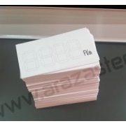 Papír digitális árcimke fehér 50x28 mm