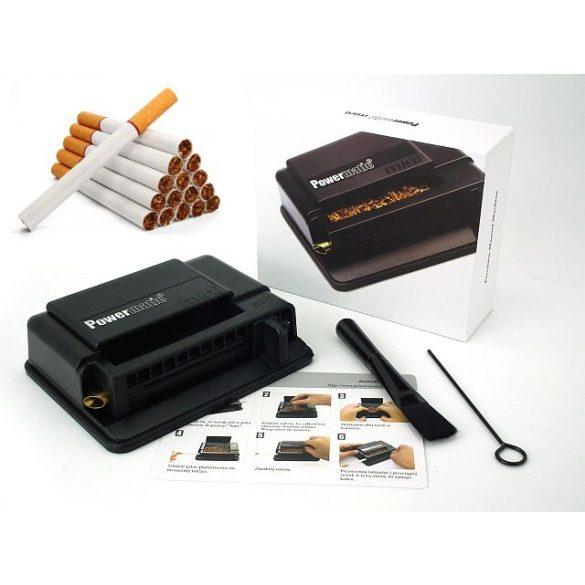Cigarettatöltő Powermatic mini Fekete 03134
