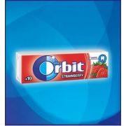 Orbit Drazsé Strawberry 10 db-os