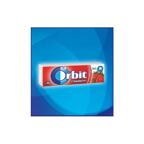 Orbit Drazsé Strawberry 10 db-os