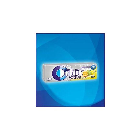 Orbit White Drazsé Fruit 10 db-os