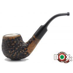 Lorenzo pipa Pal 170P Meershaum Rustic Tajtékbetétes 0668