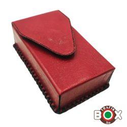 Bőr Valódi Cigaretta tartó 100's (Kézzel készített) arany 089