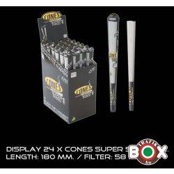 Cones Super Sized 1 db-os 180mm előresodort cigarettapapír