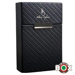 Adami Stefano Cigarettatartó doboz 80 M Carbon-x Blue