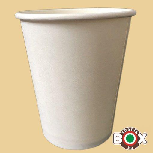 Papírpohár Cappucinós Fehér 200ml 50 db-os