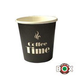 Papírpohár kávés Time Design 110ml 50 db-os