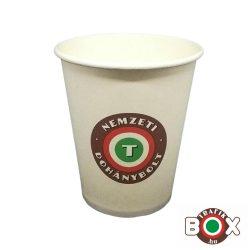 Papírpohár Cappucinos Nemzeti Dohánybolt 200ml 50 db