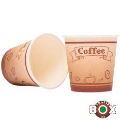 Papírpohár kávés Babos Design 110ml 50 db-os