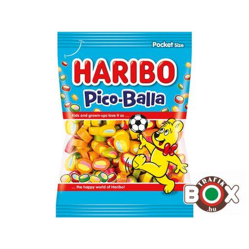 HARIBO Pico Balla gyümölcsízű gumicukorka 85 g