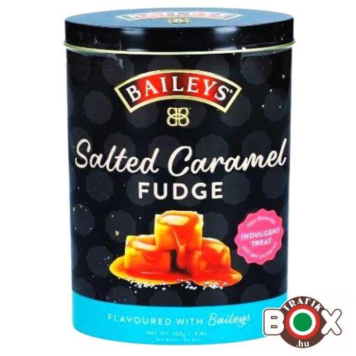 Gardiners Baileys ír krémlikőrös fudge - Tengeri sós karamella fémdobozban 250gr