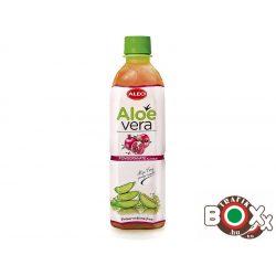 ALEO Aloe Vera ital (30%) gránátalma ízű (Pomegranate) 500 ml 12753