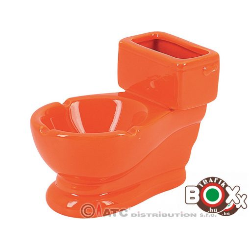 Hamuzó Kerámia WC Narancssárga 10 cm 12760