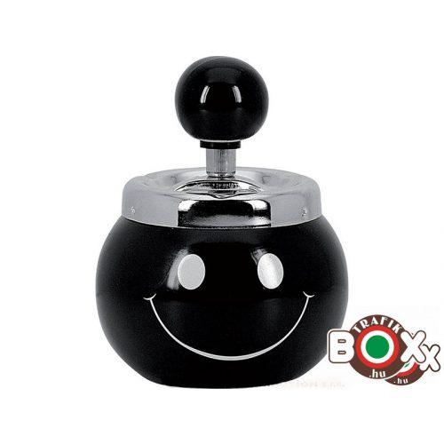 Hamuzó Smile fekete 12769
