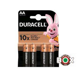 DURACELL LR06 MN1500 AA BASIC B4 CERUZAELEM 4 db/bliszter