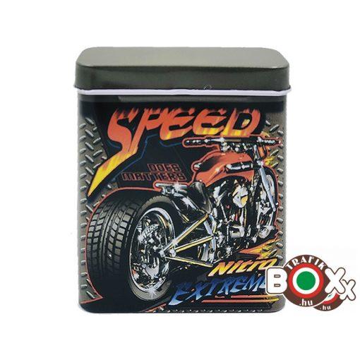 Cigarettadoboz Fém Speed 170201-1