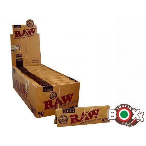 RAW  Rövid Classic Cigarettapapír 17367