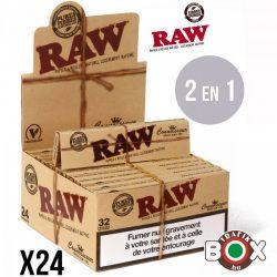 RAW  Slim+Filters Cigarettapapír 17402
