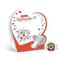 Raffaello szív Valentin napra T4 (4 db) 40 g