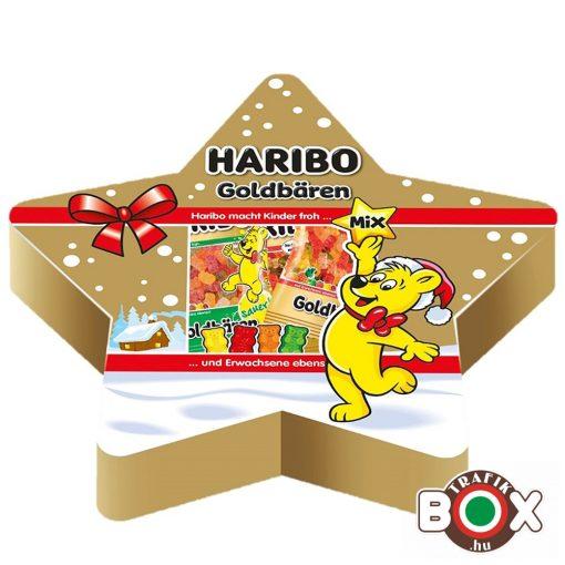 HARIBO Karácsonyi Csillagdísz gumicukorka 210 g
